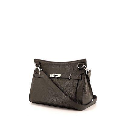 191b19f55dd3 Perfect Replica Hermes Jypsiere small model shoulder bag in grey togo  leather